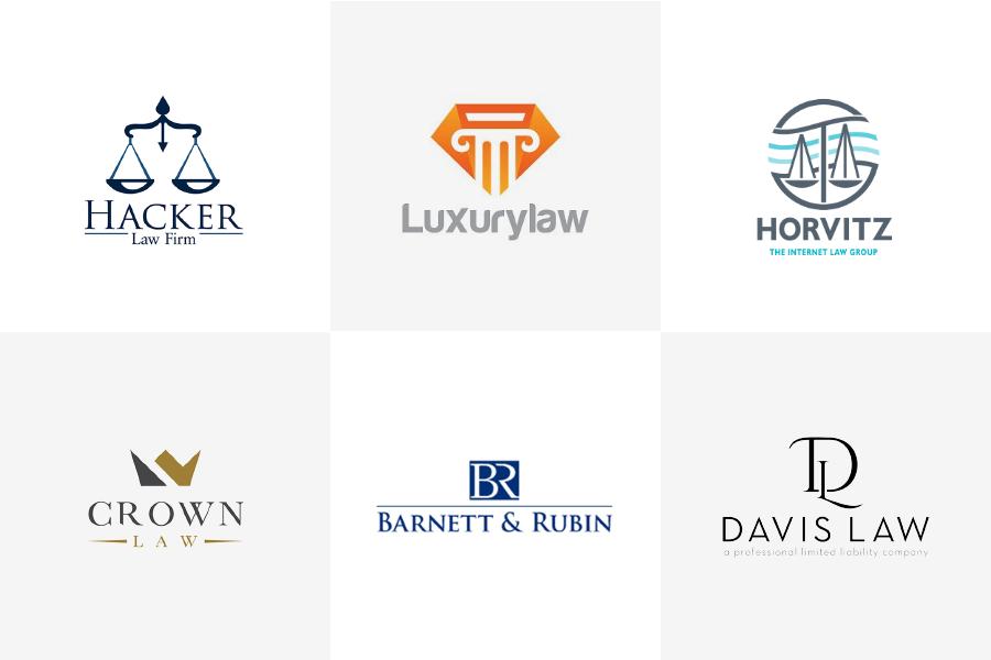 логотипы юридических компаний