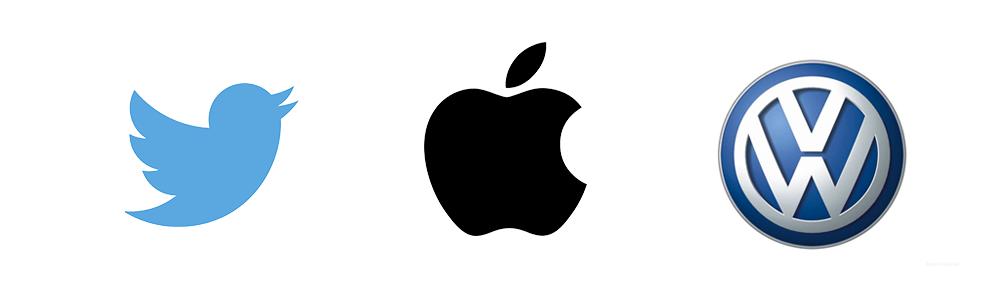 логотипы в виде символа