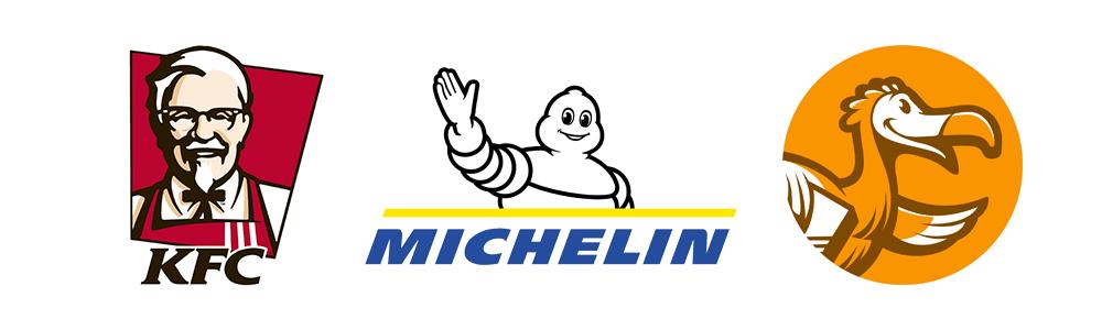 Персонаж в логотипе
