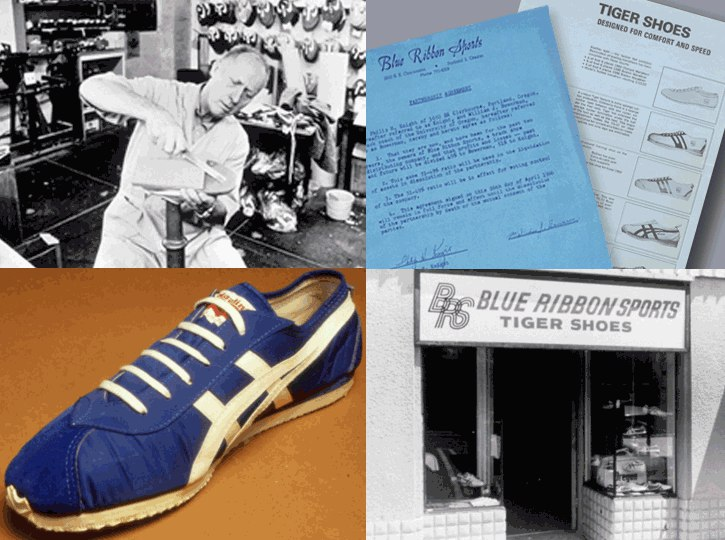 Nike: начало пути