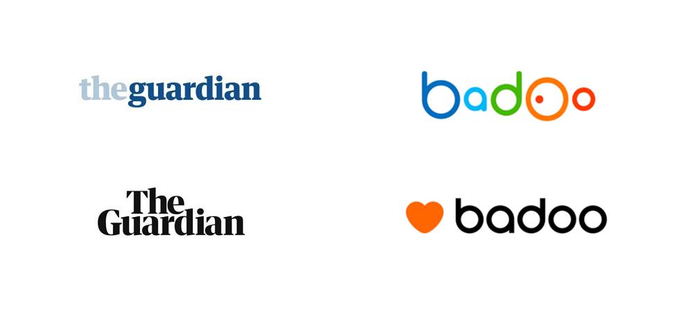 Логотипы становятся проще