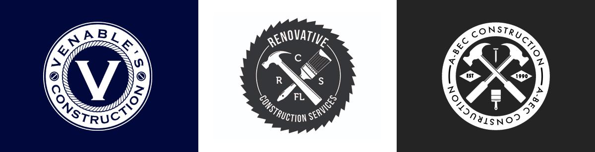 Эмблемы строительных фирм