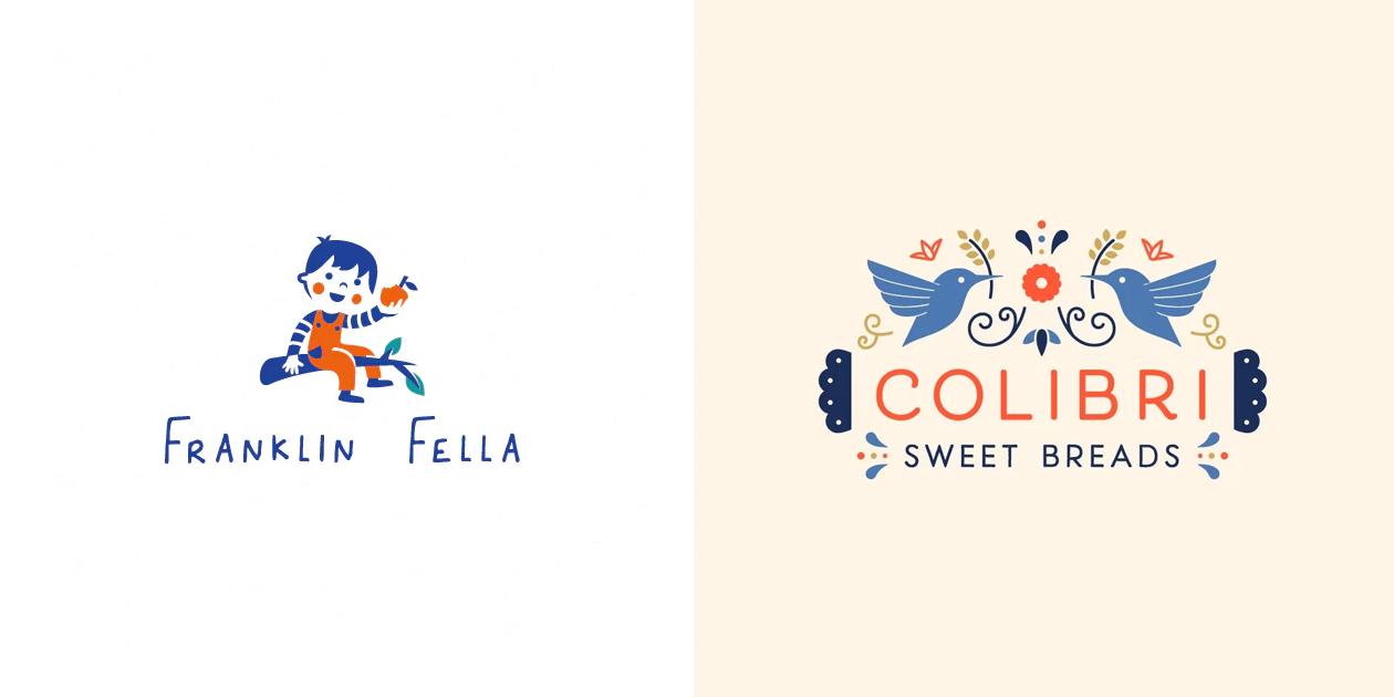 Дизайн логотипов 2019
