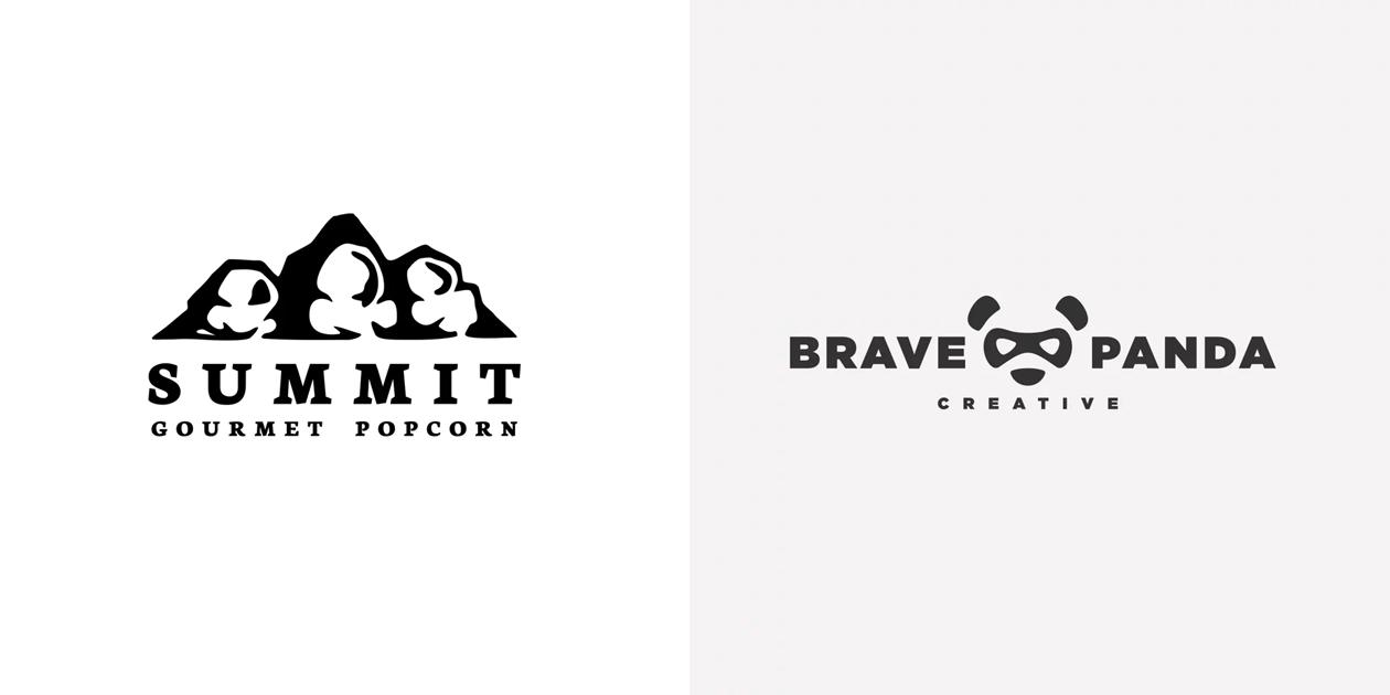 Негативное пространство в лого