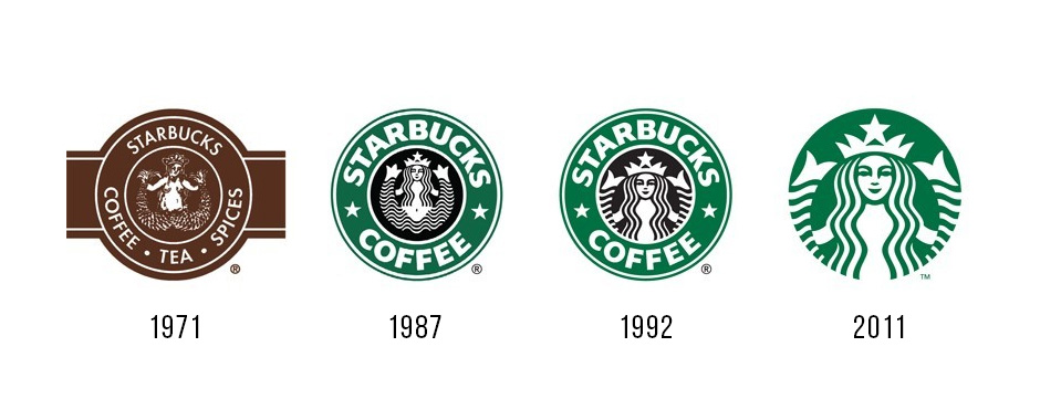 История логотипа Старбакс