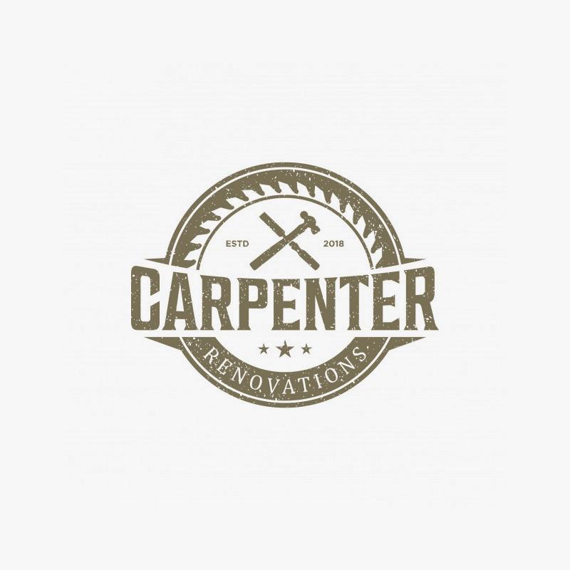 Логотип плотника