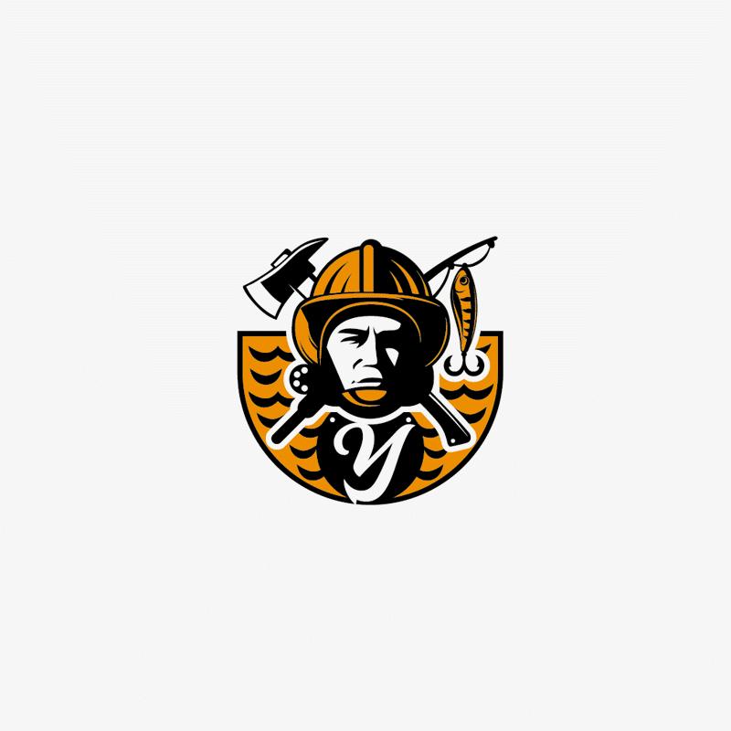 логотип для пожарной организации