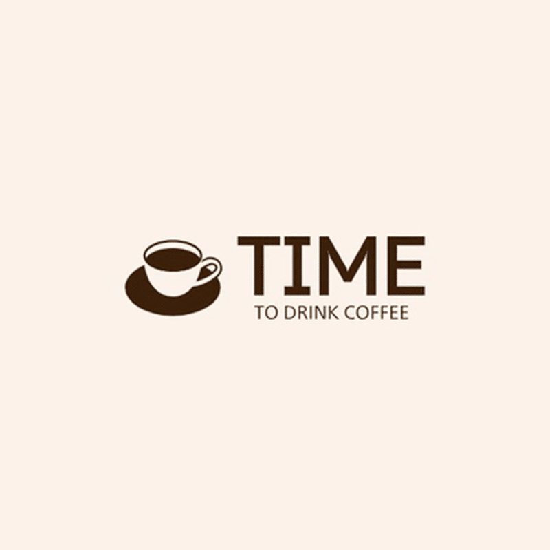 TIME TO DRINK COFFEE