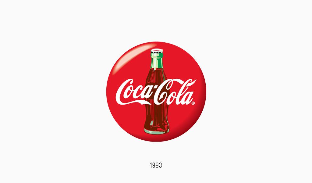 Логотип Кока-Кола, 1993