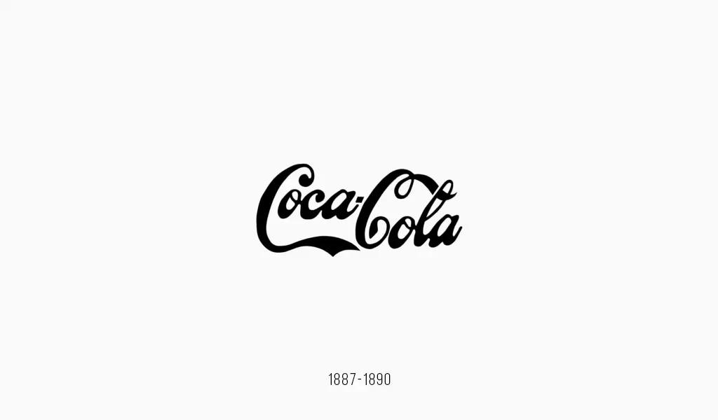 Логотип Кока-Кола, 1887