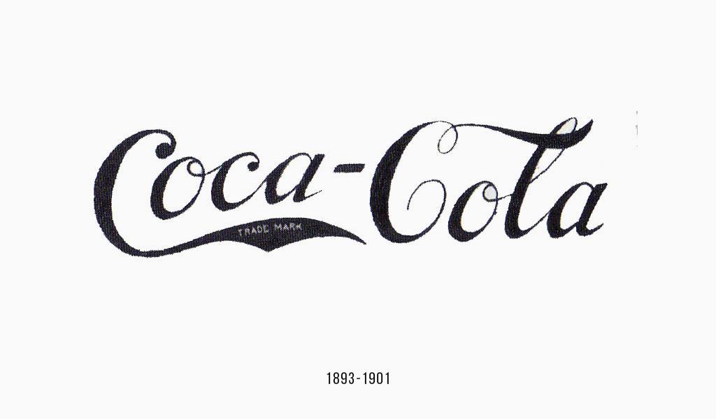 Кока-Кола логотип, 1893
