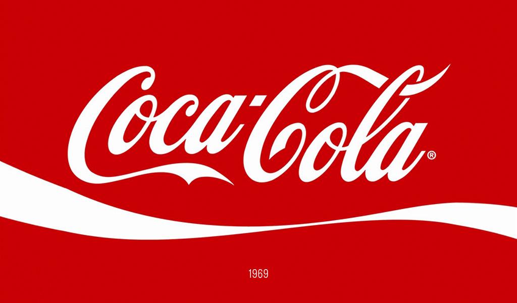Логотип Кока-Кола, 1969