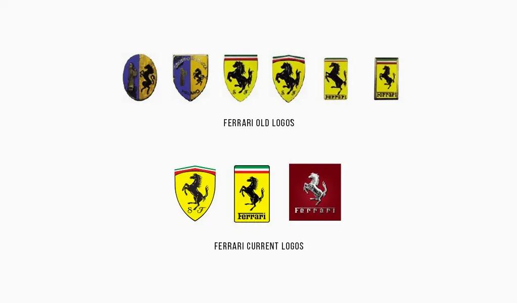 История логотипа Феррари