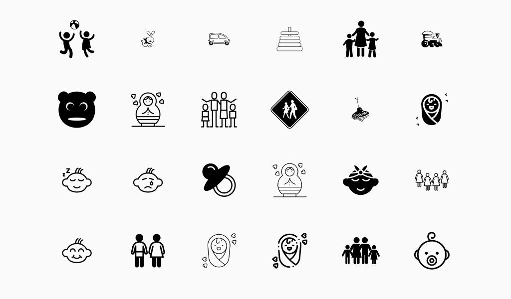 Иконки для магазина одежды