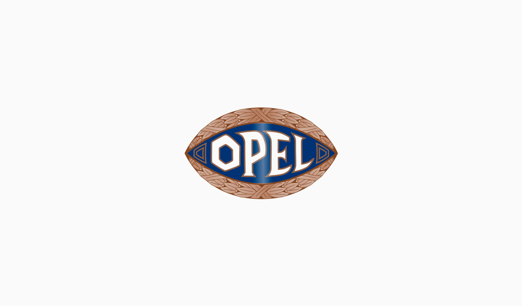 Логотип Опель 1910