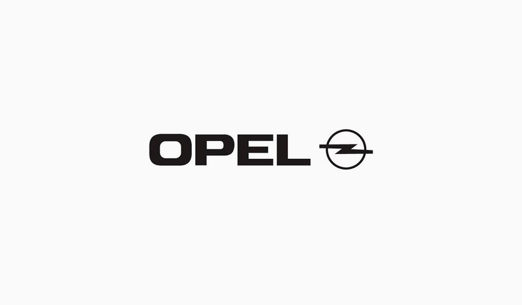 Логотип Опель 1987