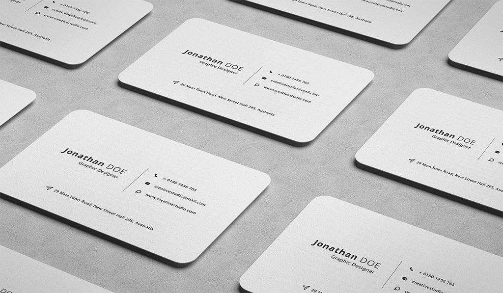 Пример личной визитки