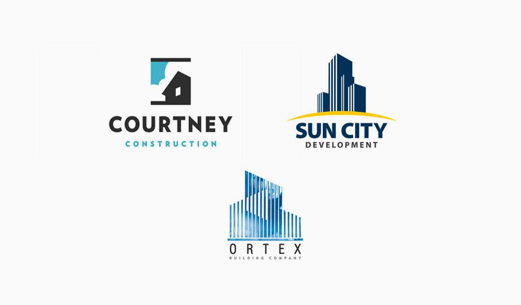 Логотипы строительной компании