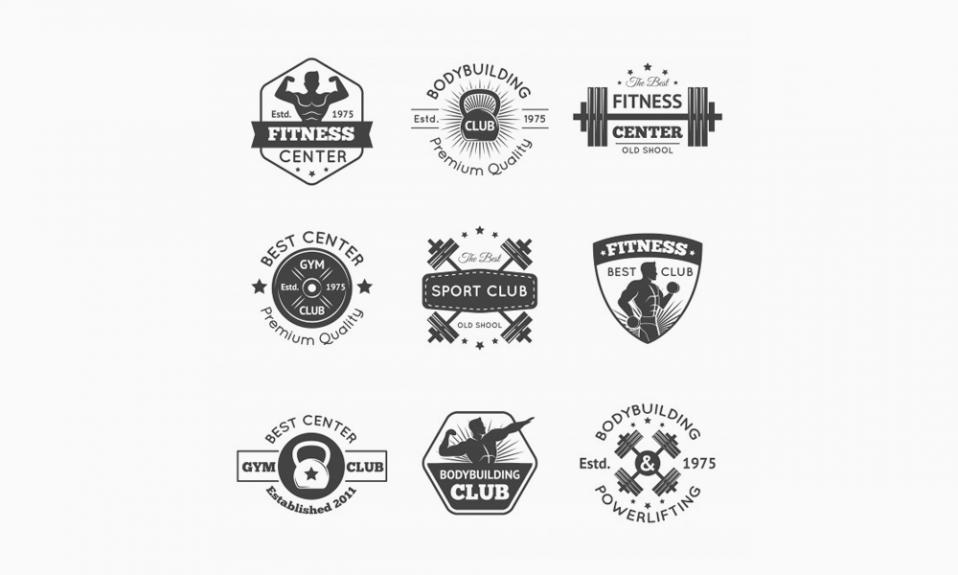 Логотипы тренажерного зала
