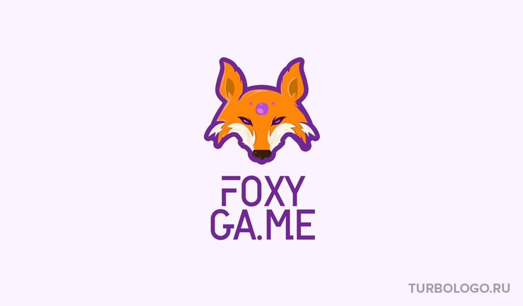 Игровой логотип лиса