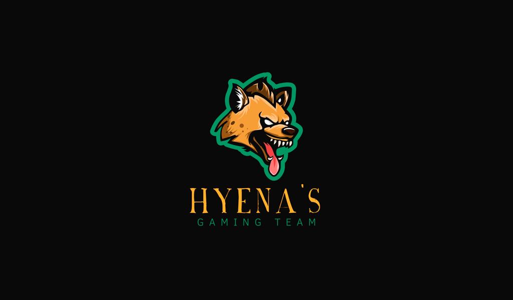 Игровой логотип гиена