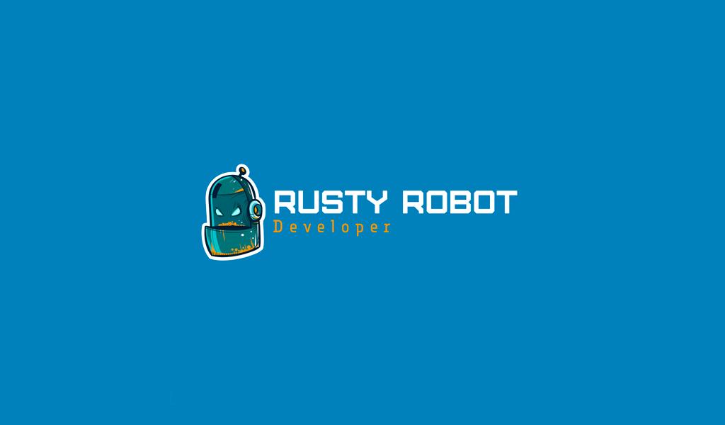 Игровой логотип робот