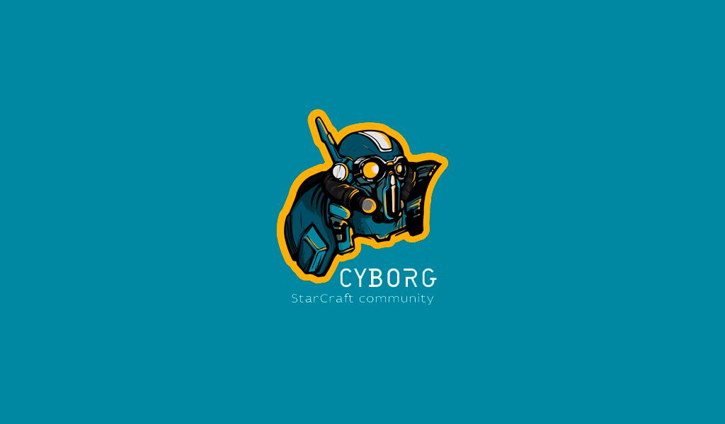 Игровой логотип StarCraft