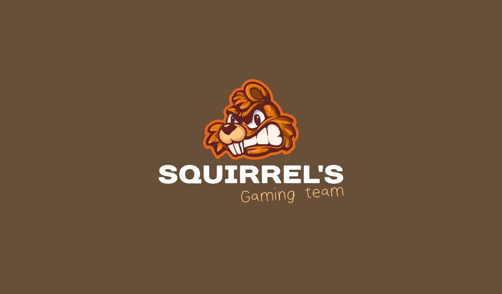 Игровой логотип белка