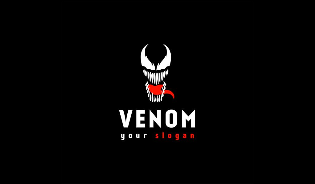 Игровой логотип Веном