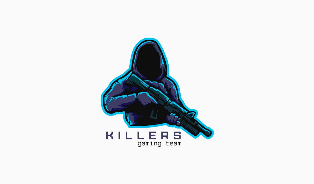 Игровой логотип сталкер