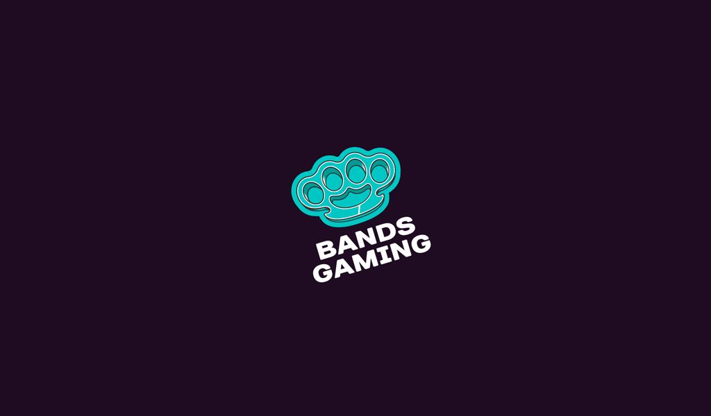 Игровой логотип кастет