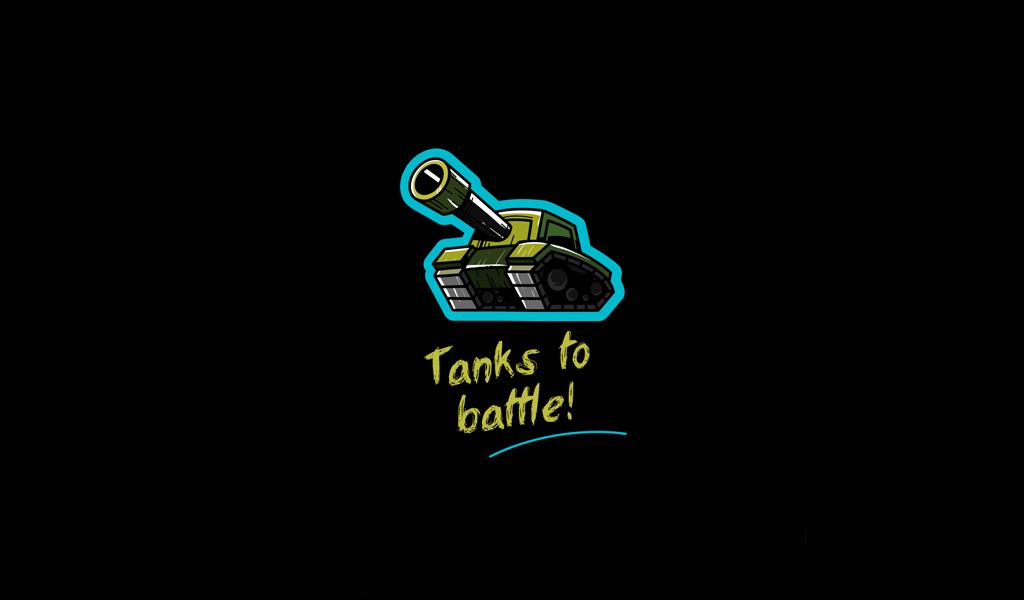 Игровой логотип танк