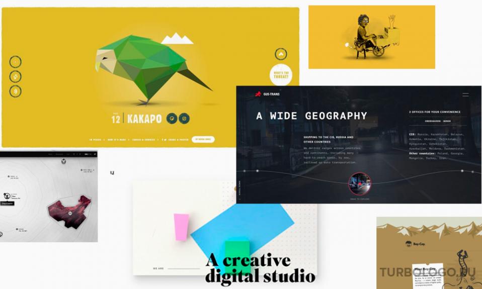 Тренды в дизайне сайтов 2021