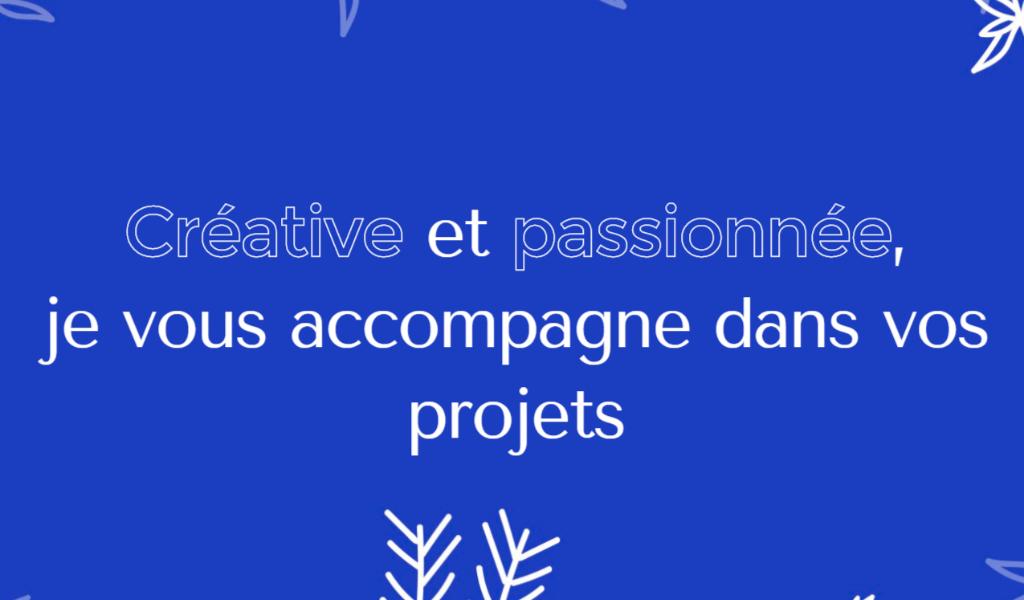 Синий дизайн сайта