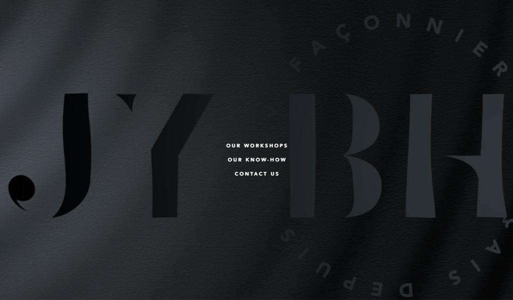 Черный дизайн сайта